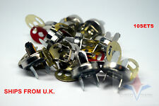 10 Set Magnetic Clasps Button Fastener Bag Purse Sewing Leathercraft 10mm
