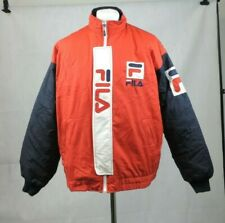 Fila Red / Blue Ski Jacket Used Size L CR003 ii 02