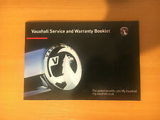 Blank Vauxhall Insignia Service History Book