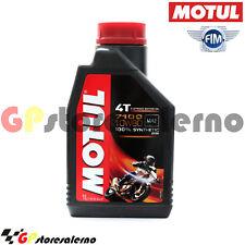 1 LITRO LUBRIFICANTE OLIO MOTORE MOTUL 7100 10W60 4T 100% SINTETICO GAS GAS