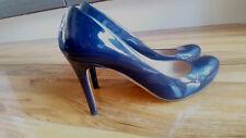 L.K.Bennett Stila Patent Leather Court Shoes ~Navy, size 5 UK / 38 EU **BARGAIN*