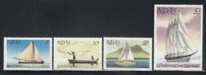 NEVIS Boats, Fishing Vessel & Tall Ship MNH set