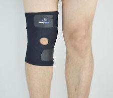 Rodilla Neopreno Patella Negro Elástico Knee Brace Support Gimnasio Deporte