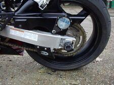 Suzuki GSX R1000 K1 2001 R&G Racing Swingarm Protectors Push-In SP0001BK Black