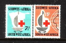 SOUTH WEST AFRICA....  1963  red cross set mint