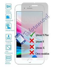 Lote Protector de Pantalla Cristal Templado Vidrio para Apple Iphone 8 Plus