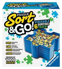Ravensburger - PUZZLE SORT & GO - 6 Jigsaw Puzzle Sorting Stacking Trays