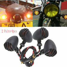 4 Pcs Universal Motorcycle Bullet Turn Signals Indicator Light for Yamaha Suuzki
