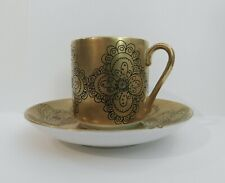 "2 Arabia Finland ""GILDA"" by Esteri Tomula Demitasse Expresso Cups & Saucers"