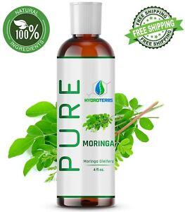 Moringa Oleifera Oil 4 oz. Cold Pressed Seed 100% Pure Natural Organic Refined