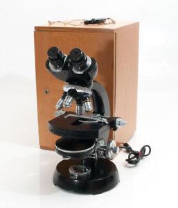 Carl Zeiss Durchlichtmikroskop mit Transportbox