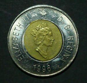 1996 Canada Toonie - Misstruck