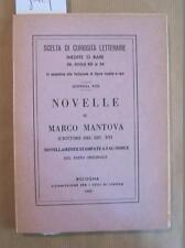 MARCO da Mantova, Novelle di Marco Mantova scrittore del secolo XVI