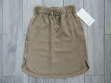 LULULEMON ON THE FLY SKIRT, FRONTIER BEIGE, NWT, 4