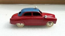 DINKY TOYS FRANCE REF 24 TU SIMCA 9 ARONDE TAXI ROUES CHROMEES COMME NEUF
