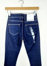 American Apparel Womens Dark Indigo Low Waist Jeans Size 24 L29 NEW Stretch