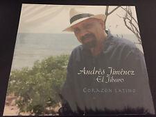 "ANDRES JIMENEZ - EL JIBARO - "" CORAZON LATINO"" - CD"