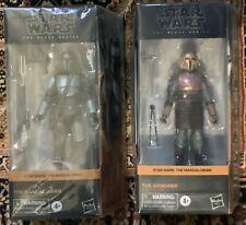 Star Wars Black Series Mandalorian Beskar & The Armorer NIB Excellent Condition
