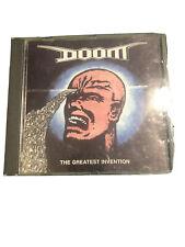 DOOM - THE GREATEST INVENTION CD 1993 VINYL JAPAN amebix hellbastard antisect