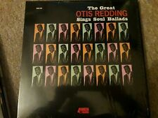 Otis Redding ‎The Great...Sings Soul Ballads Vinyl LP Album Record