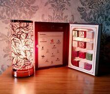 Aroma Lamp Wax Melt Burner Rose Gold Leaf Design Touch Christmas Gift Set