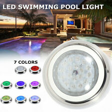 New listing Ac12V 54W Rgb underwater Led Light Ir Remote Controller > 50000hours 90 Degrees