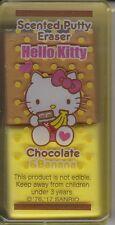 Sanrio Hello Kitty Eraser Scented Putty Eraser Chocolate and Banana