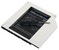 2nd Hard Drive HDD SSD Caddy per MacBook Pro A1181 A1260 A1150 A1211 IDE DVD