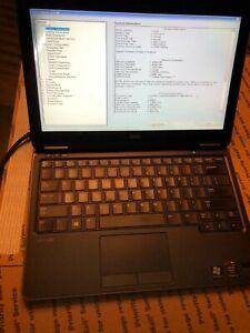 """Dell Latitude E7240 12.5"""" Core i5 4200U@1.6GHz  burble on screen No Os"""