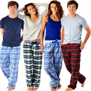 Children's Teens Boys Girls 100% Cotton Lounge Pants Pyjama Bottoms ages 1-16