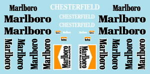 F1 DECALS MUSEUM COLLECTION D493 1/43 FOR MCLAREN M23 & M26 SPONSORSHIP