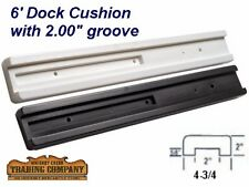 "(2) 6' Boat Dock Cushion Bumper Fits 2"" Flat Surface BM6-2"
