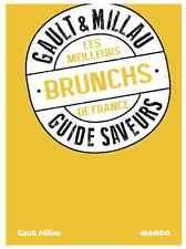 Livre cuisine GAULT & MILLAU Mango Guide saveurs MEILLEURS BRUNCHS FRANCE NEUF 2