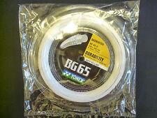 100% YONEX BG65 String (Reel)-100% GENUINE_BG-65 x 200 metres coil_BG65 200M