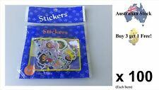 Mini Cartoon Sticker Pack ( Dora - the Explorer ) Up to 100 pcs in Each Pack!
