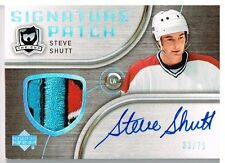 05-06 The Cup SIGNATURE PATCH xx/75 Made! Steve SHUTT - Canadiens