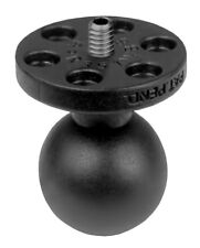 "RAM Mount Threaded Camera Base with 1"" Ball & 1/4""-20 Stud Fits Contour GoPro"