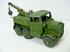 Dinky Toys #661 Scammell Military Wrecker Nice!