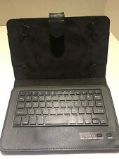 Tsmine Bluetooth Keyboard Case for 7-8.5'' Tablet PC- Removable keyboard- BLACK