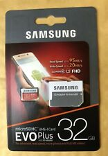 Samsung Micro SD Card SDHC EVO+ 95MB/s UHS-I Class 10 With Adapter Genuine 32GB
