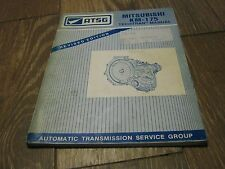 Used ATSG 1993 Mitsubishi KM-175 Techtran Manual book