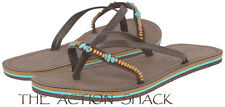 D1020 - Rip Curl Coco Sandals / Flip-Flops • New Womens 9 Chocolate - #27228