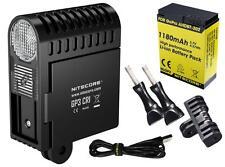Nitecore GP3 CRI 270 Lumen HIGH CRI USB Rechargeable GoPro 3 Camera Light