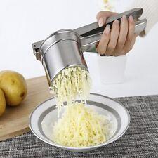 Kitchen Food Potato Ricer Masher Fruit Juicer Press Stainless Steel Mash Tool HU