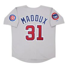 Greg Maddux 1992 Chicago Cubs Grey Road Jersey w/ Team Patch Men's (M-2XL)