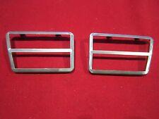 1968 Galaxie XL Clutch & Brake Pedal Stainless Trim (pr) New, 4-Speed