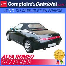 Capote Alfa Romeo GTV Spider cabriolet en Alpaga Stayfast