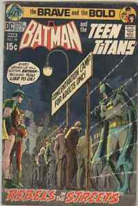 Brave and the Bold #94 March 1971 VG Nick Cardy Teen Titans