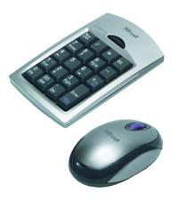 Trust Wireless Numeric Keypad & Optical Mouse KP-3100p