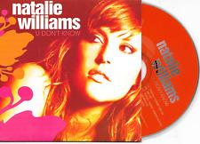 NATALIE WILLIAMS - U don't know CD SINGLE 5TR Deep House 2008 Dutch Cardsleeve